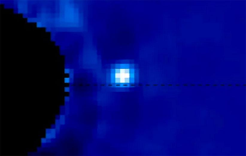 برای نخستین بار، تصویر یک سیارهی فراخورشیدی در حال حرکت ثبت شد
