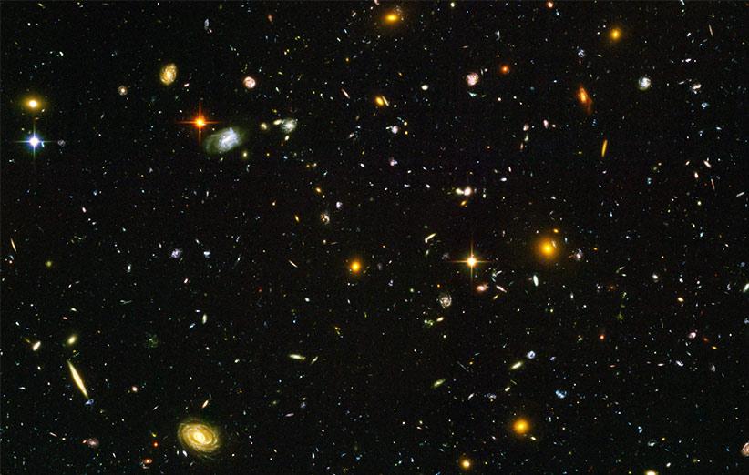 در عالم چند کهکشان وجود دارد؟