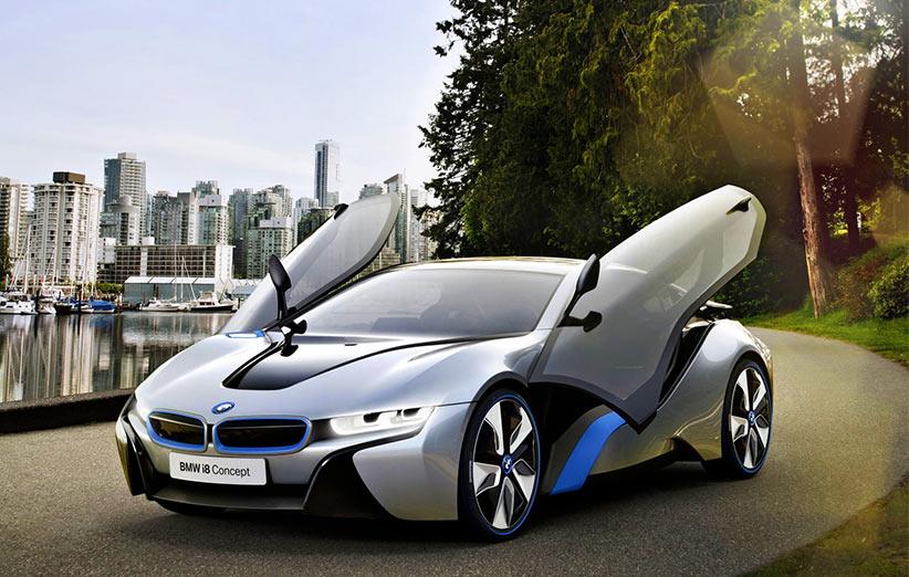 BMW i8؛ زیبای فرازمینی