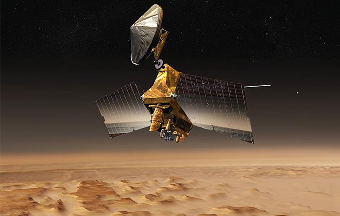 مدارگرد ۷۲۰ میلیون دلاری MRO از سال ۲۰۰۶ به بررسی سطح مریخ مشغول است