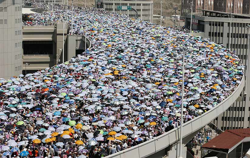 حادثهی مکه، یادآور نیروی عظیم جمعیت