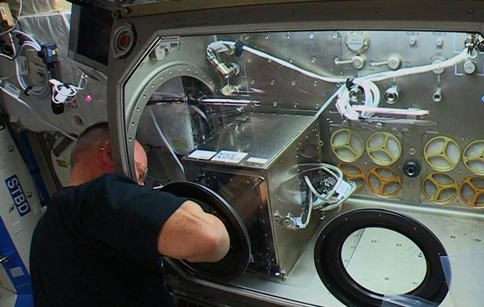 تحقیقات ناسا در ایستگاه بینالمللی فضایی
