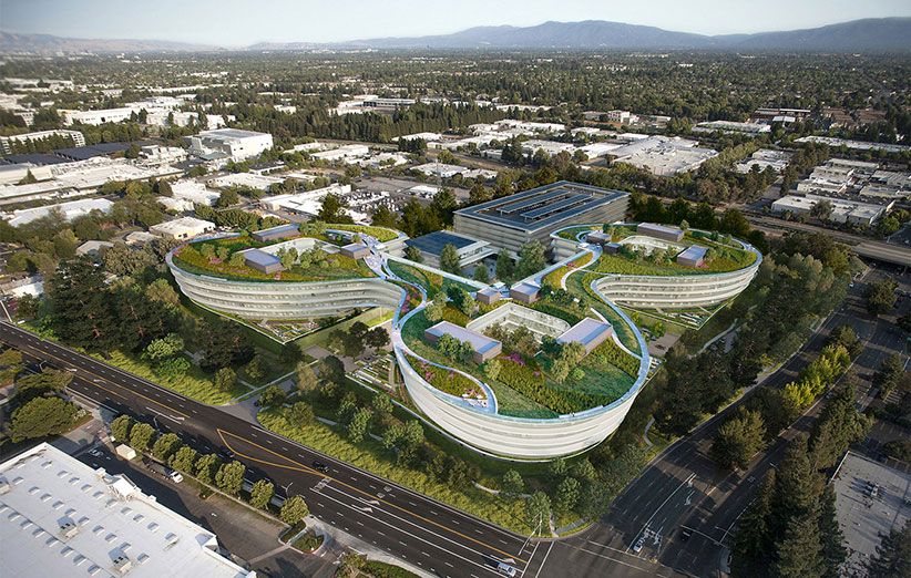 نگاهی به ساختمان جدید فضایی اپل
