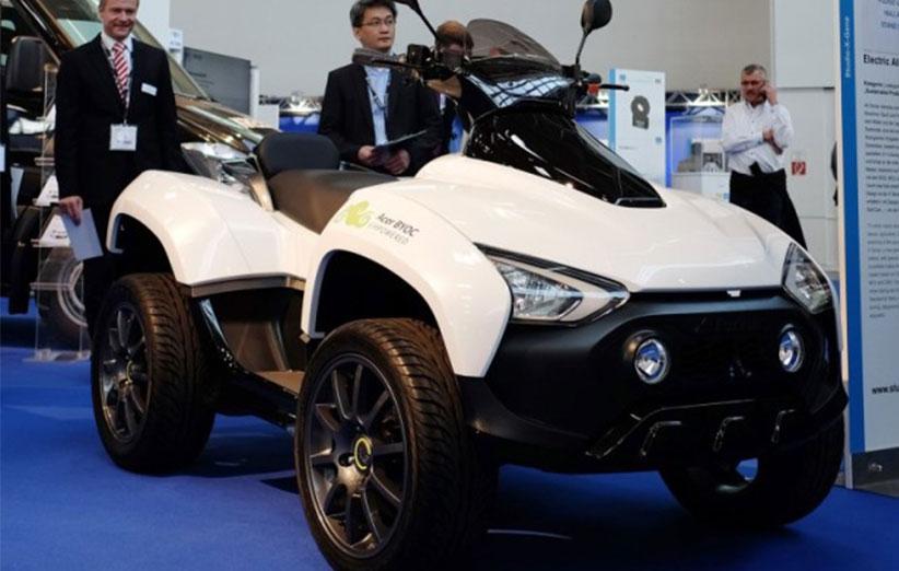 ایسر خودروی ATV تمام الکتریکی ساخت