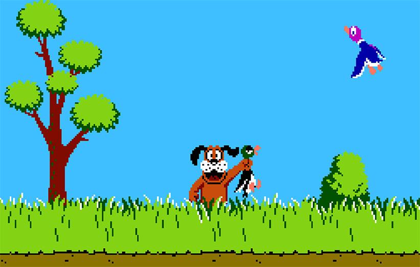 شکارچی خاطرات (Duck Hunt 1985)