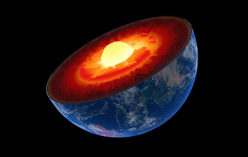 لایه های کره ی زمین