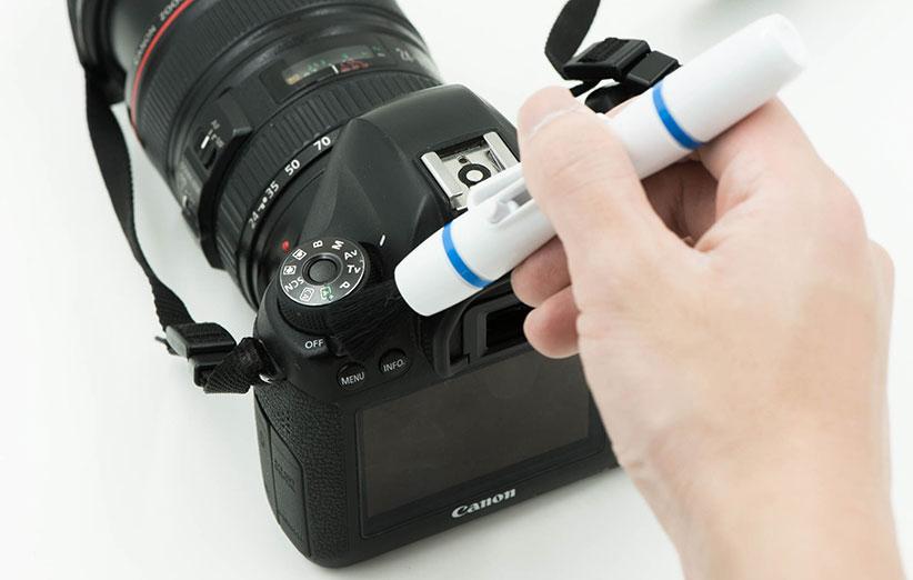 آموزش روش صحیح تمیز کردن لنز، فیلتر، آینه و سنسور دوربین