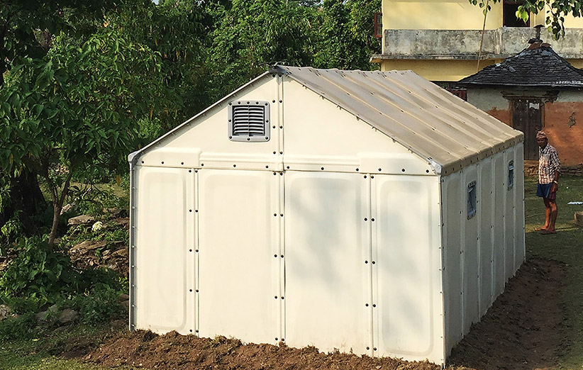 آیکیا برای پناهجویان خانههای موقت میسازد