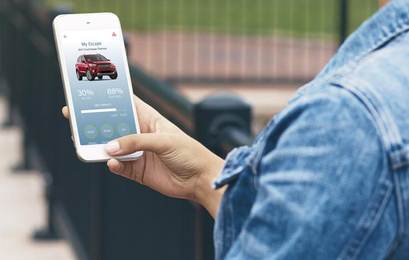 کنترل و مانیتور کامل خودروهای فورد با یک اپ فراهم شد