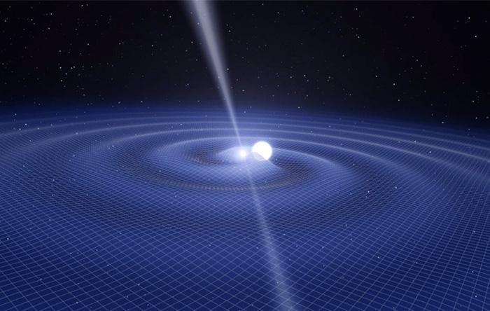 بعضی از پدیدههای عالم از روی امواج گرانشی که ساطع میکنند قابل رهگیری هستند