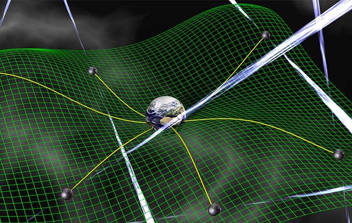 باز زیر نظر قرار دادن تپاخترها بوسیلهی تلسکوپهای رادیویی، ممکن است بتوانیم متوجه عبور امواج گرانشی بزرگ بشویم.