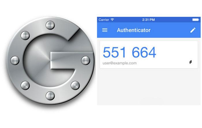 برنامهی Google Authenticator
