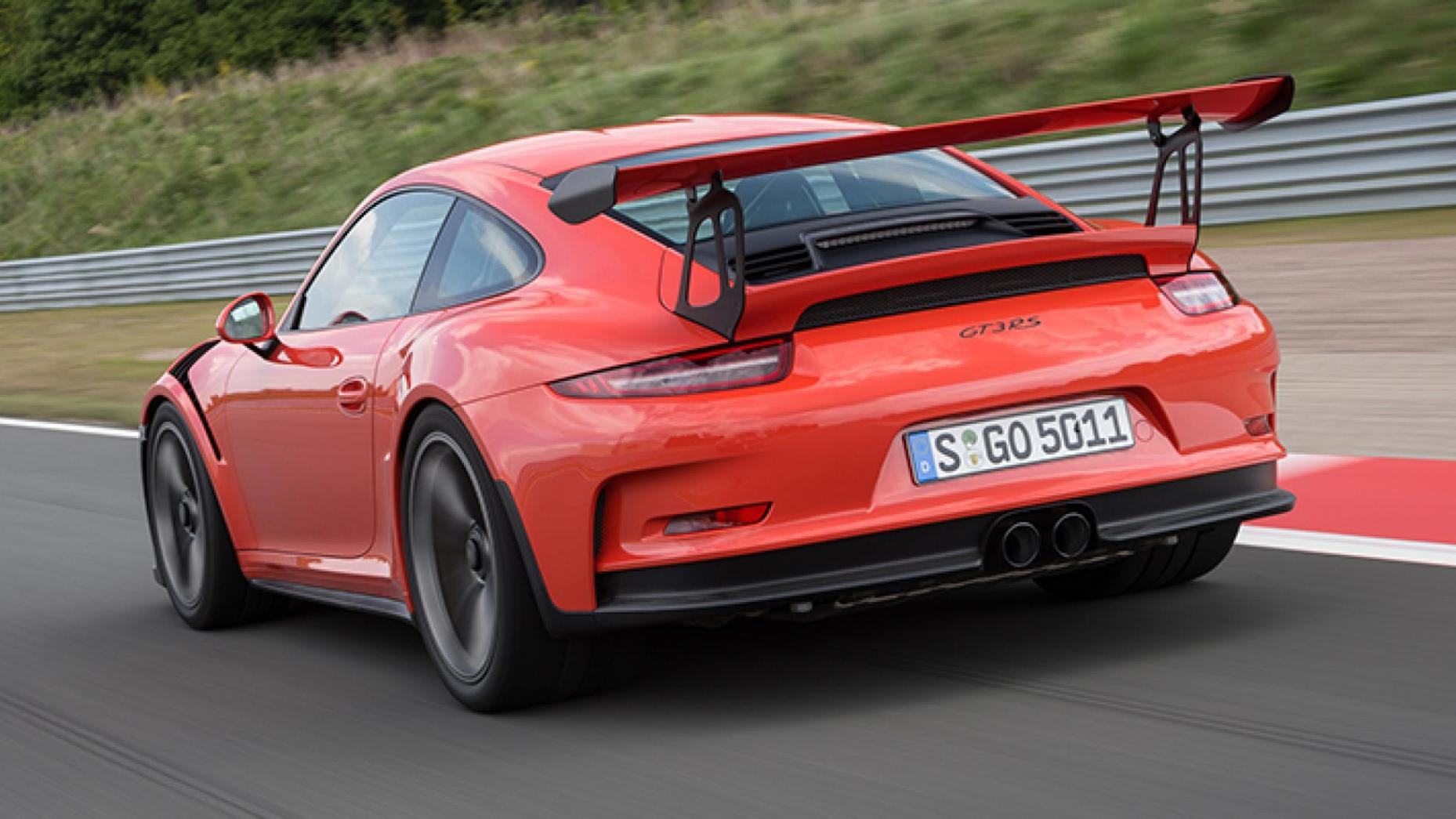 12-Porsche 911 GT3 RS 493bhp, 193mph