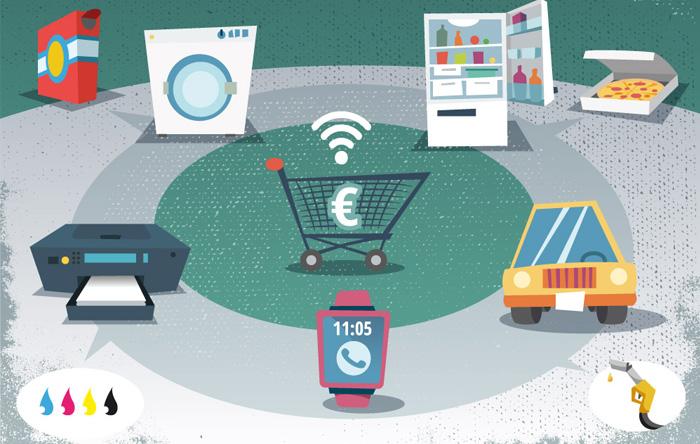 تجارت الکترونیکی و اینترنت اشیا