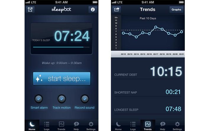 اپلیکیشن SleepBot
