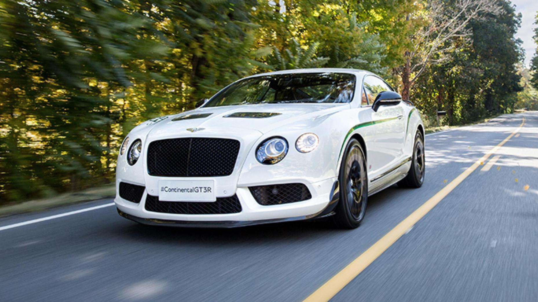 3-Bentley Continental GT3-R 572bhp, 170mph