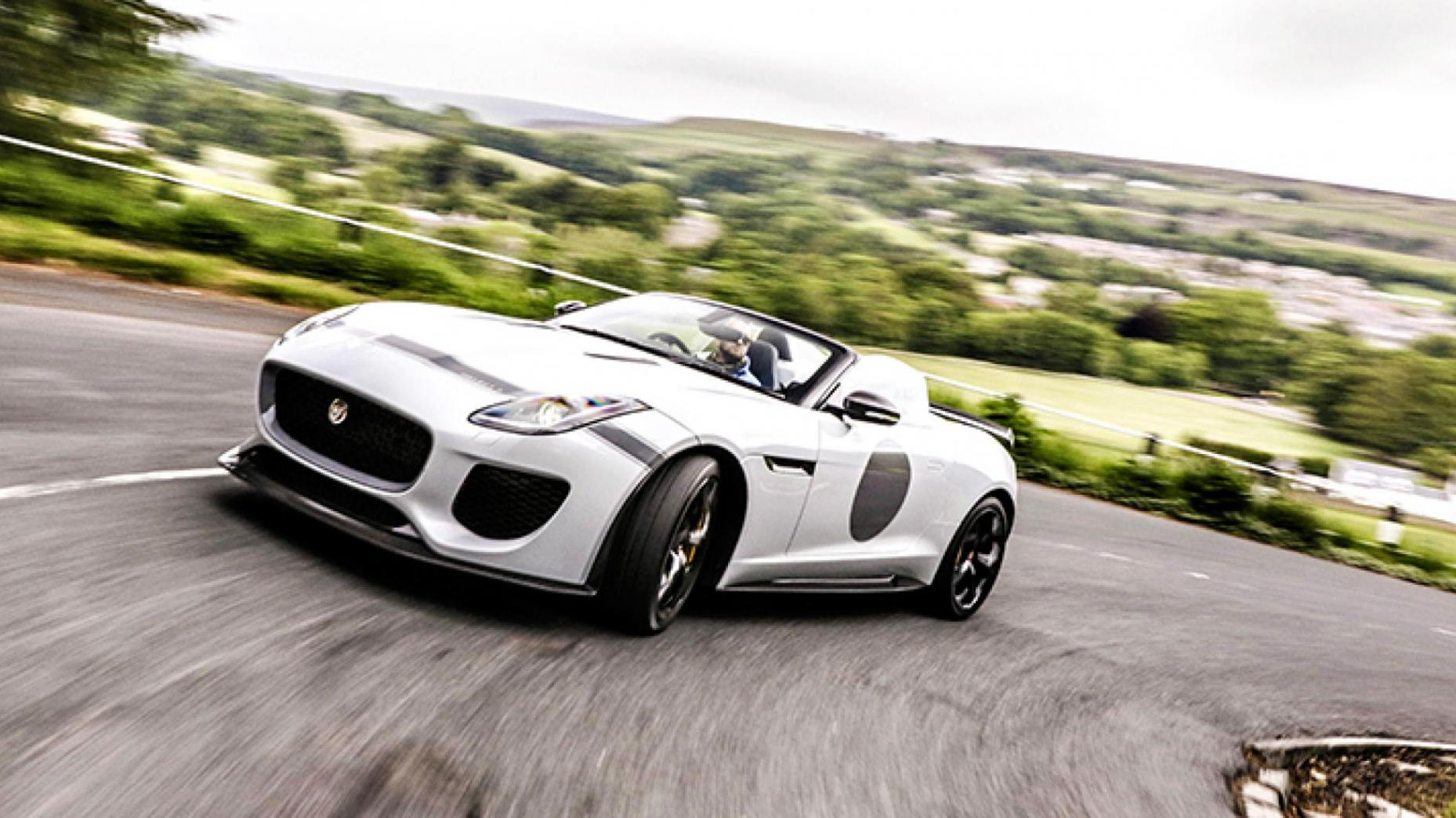 8-Jaguar Project 7 567bhp, 186mph