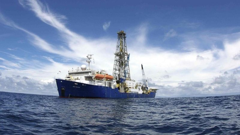 The Joides Resolution is dedicated to the science of drilling the ocean floor