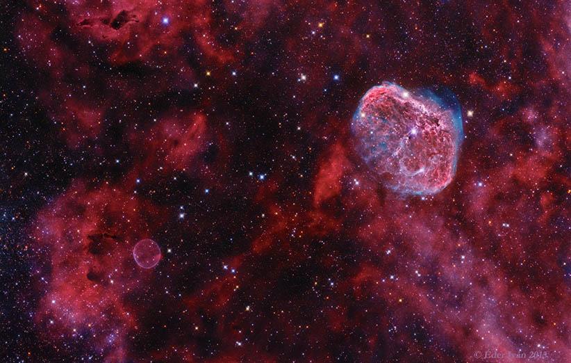 crescent nebula