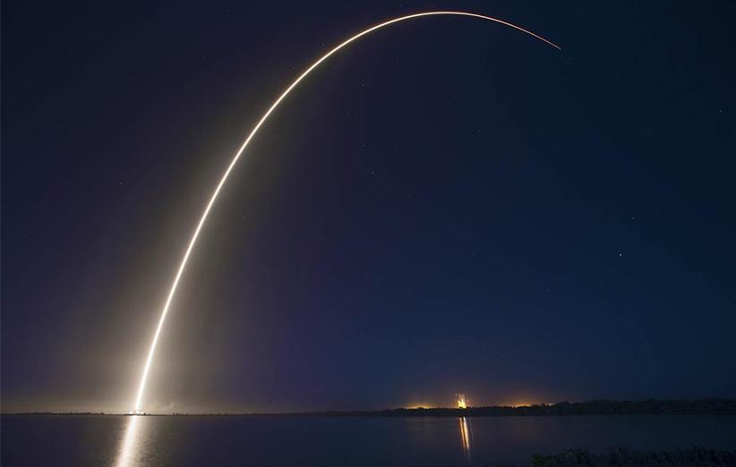 دستاورد تاریخی در صنعت هوا فضا؛ موشک فالکن ۹ سالم به زمین نشست