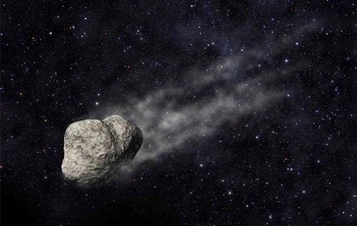 دنبالهدار ۳۲۰۰ فیتون در مسیر خود تکههای کوچک سنگ و ذرات گرد و غبار بر جای میگذارد.