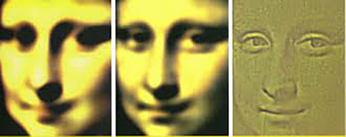تکنیک محو کردن )blur( نقاشی برای کشف راز لبخند مونالیزا
