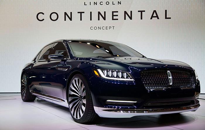 11 Lincoln Continental - بهترین ماشینهای نمایشگاه خودروی دیترویت 2016
