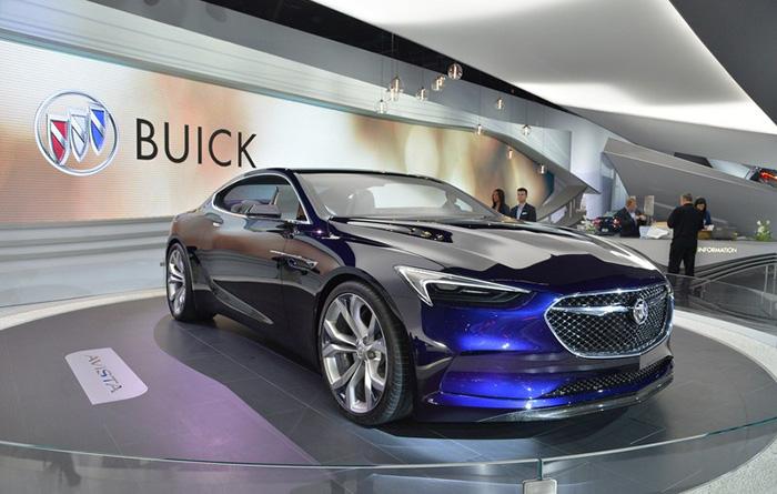 5 Buick Avista - بهترین ماشینهای نمایشگاه خودروی دیترویت 2016