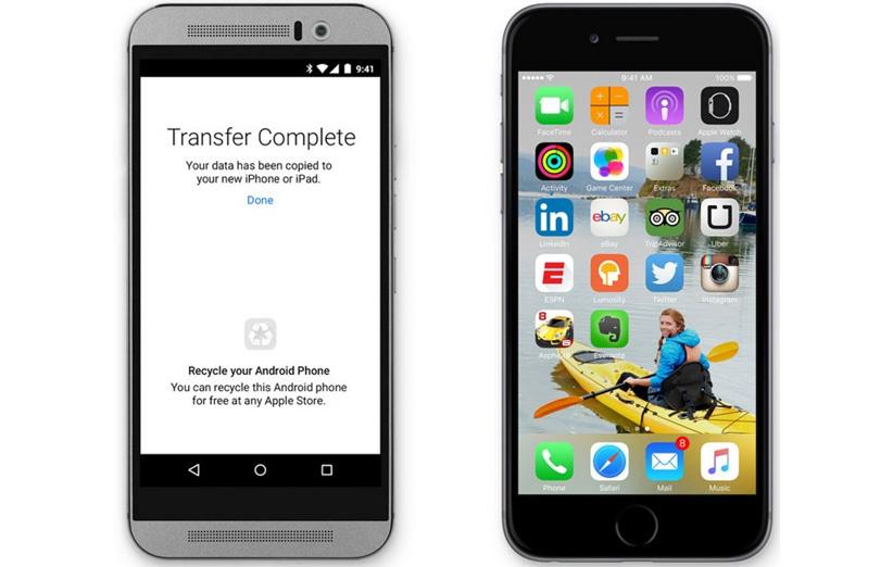 اپل و اپلیکیشنی برای مهاجرت از iOS به اندروید