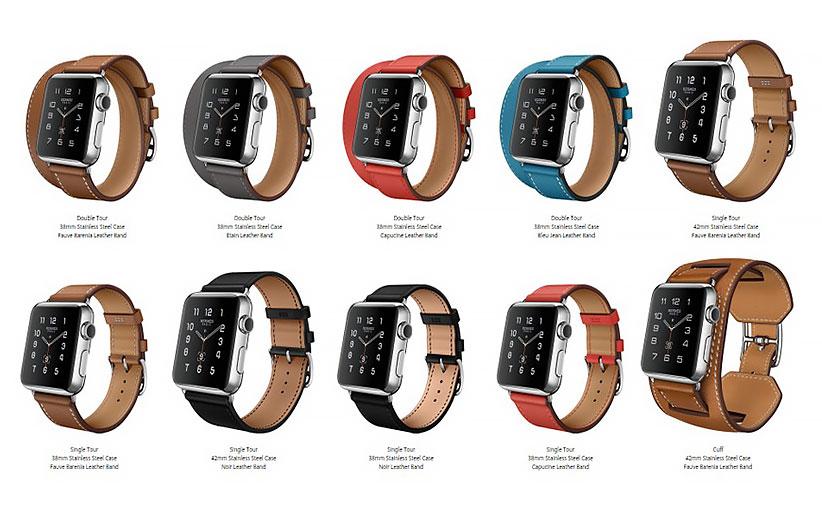 اپل مجموعه ساعتهای هرمس را وارد بازار کرد