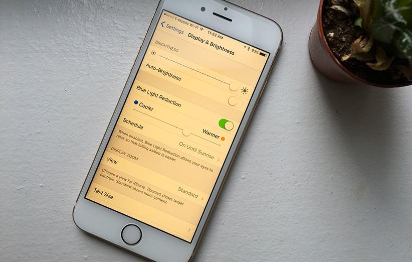 قابلیت Night Shift در نسخهی 9.3 سیستم عامل iOS چیست؟