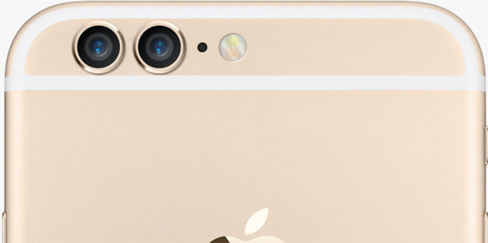 iPhone 7 Two rear cameras
