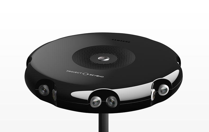 سامسونگ یک دوربین واقعیت مجازی ۳۶۰ درجه معرفی میکند