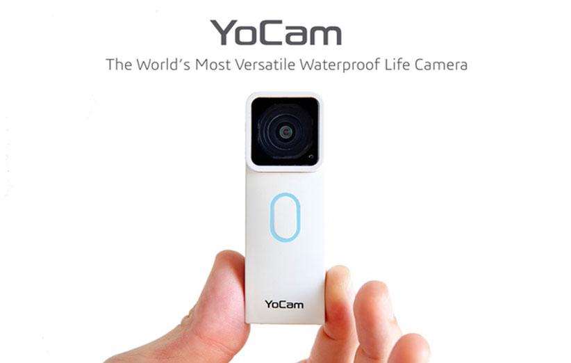 YoCam؛ کوچکترین دوربین ضد آب دنیا