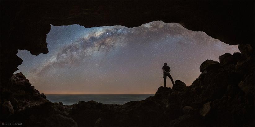 غار. عکس از لوک پروت