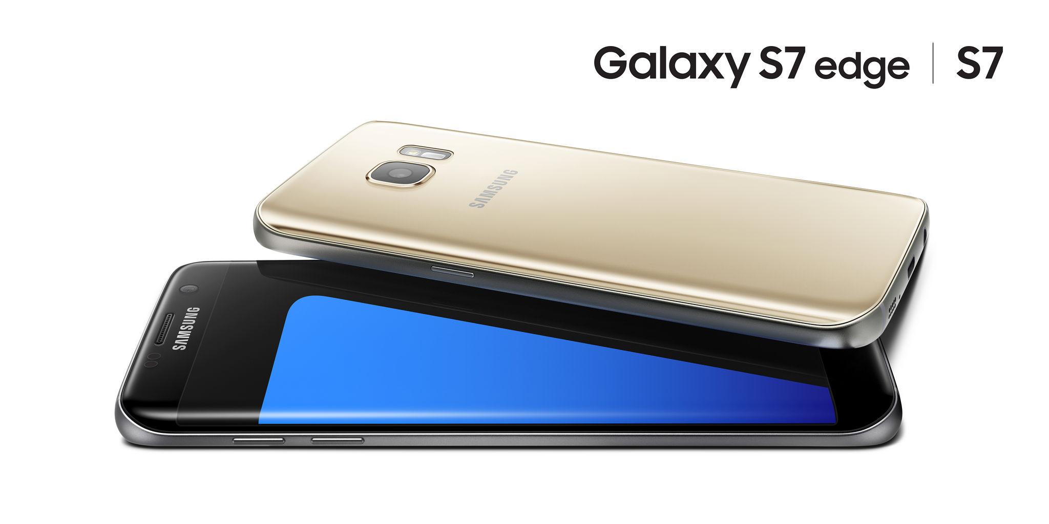 لبههای منحنی Galaxy S7 edge