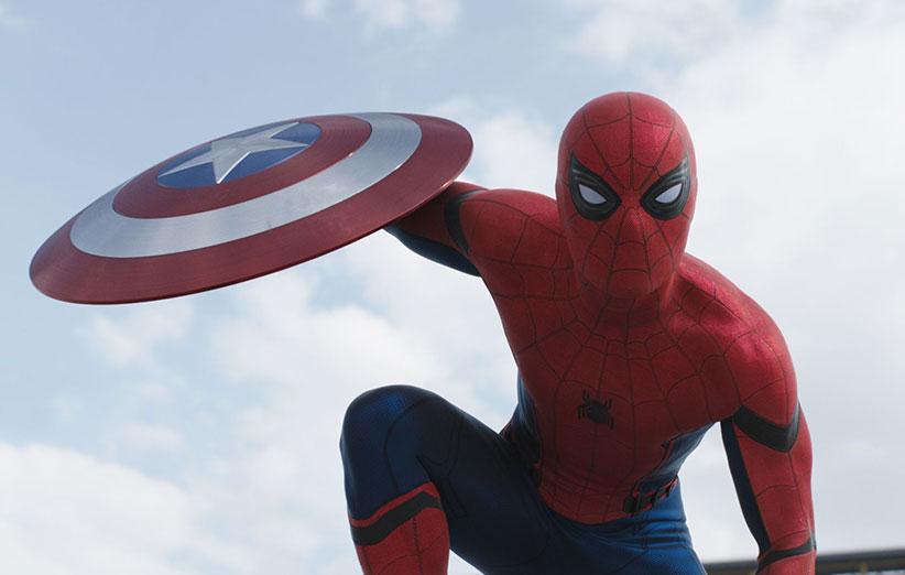 حضور مرد عنکبوتی در فیلم جدید Captain America