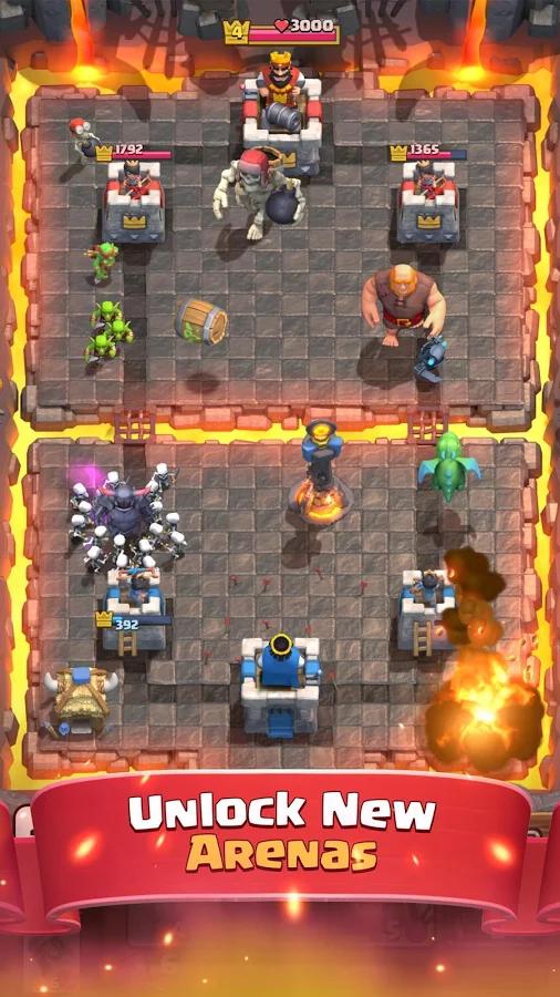 بازی موبایل Clash Royale