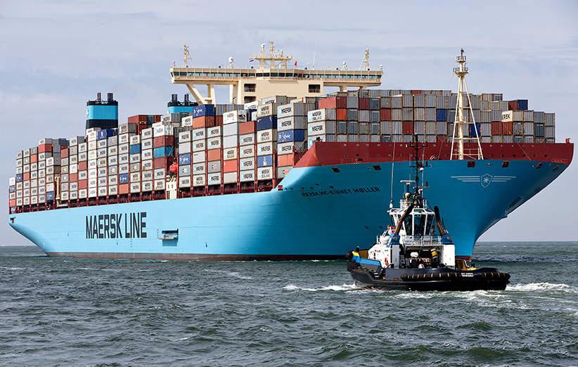 اولین ارسال تجهیزات با پهپاد به یک کشتی انجام شد