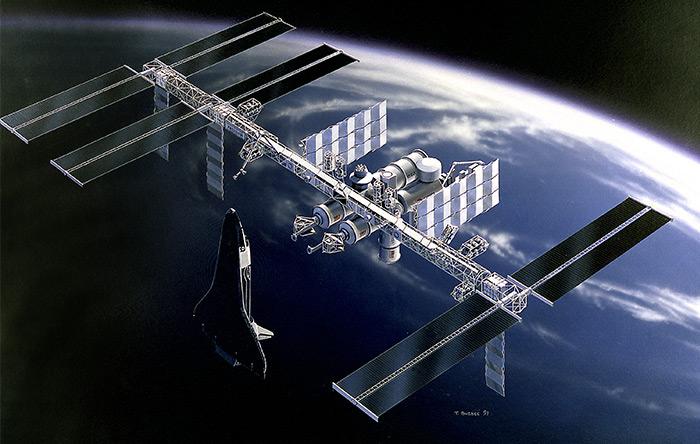 قبل از مطرح شدن بحث ایستگاه فضایی بینالمللی، آمریکاییها میخواستند یک ایستگاه فضایی بزرگ به نام فریدام بسازند.