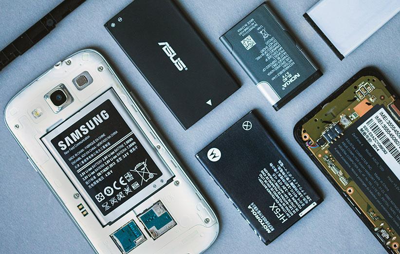 ۶ افسانه درباره باتری گوشیها