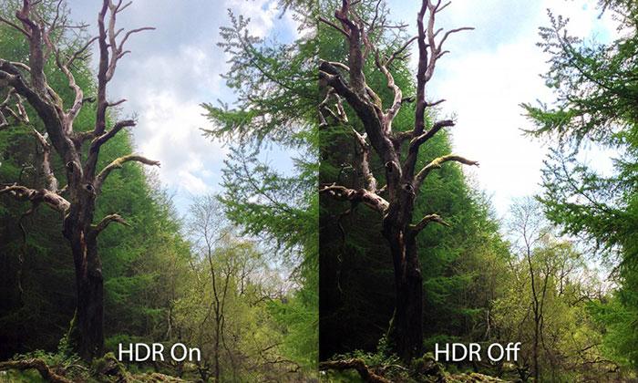 عکاسی حرفهای با دوربین آیفون - HDR