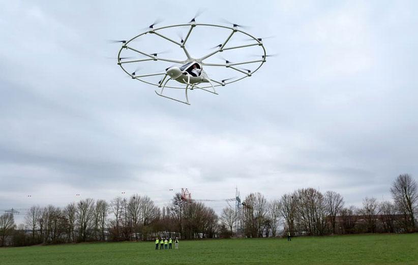 ولوکوپتر در اولین آزمایش موفق بود؛ پرواز یک ابرپهپاد با سرنشین