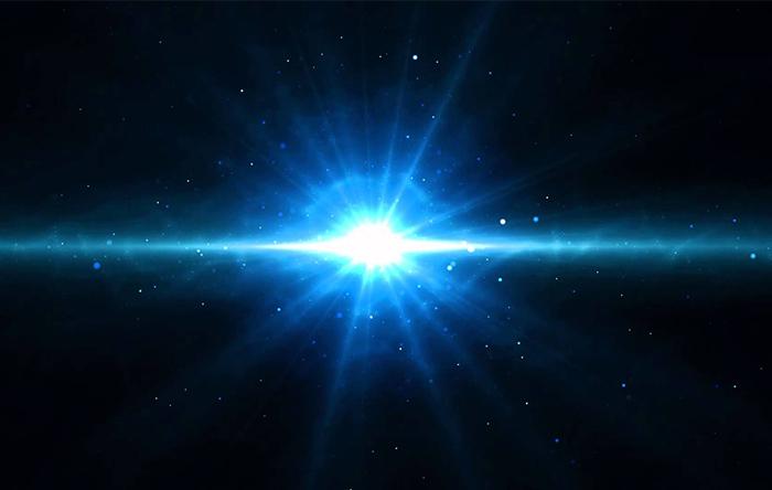 عالم از یک انفجار بزرگ بوجود آمده و گسترش یافته است. یعنی از حالتی با انتروپی خیلی کم به حالتی با انتروپی زیاد رفته.