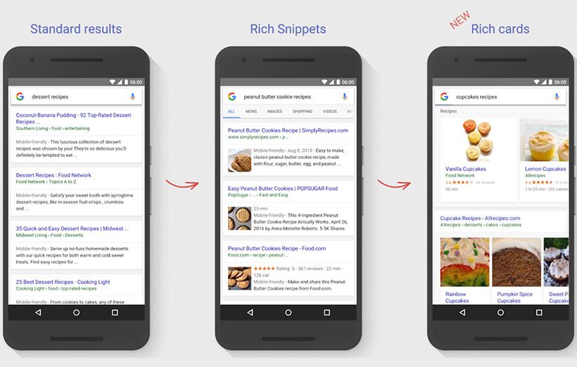 شکلوشمایل نتایج جستوجوی گوگل تغییر میکند