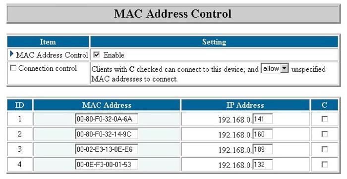 آدرس MAC