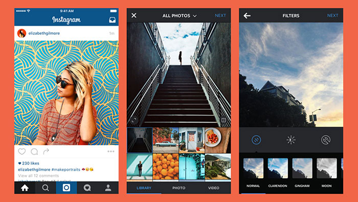 اپلیکیشن عکاسی Instagram