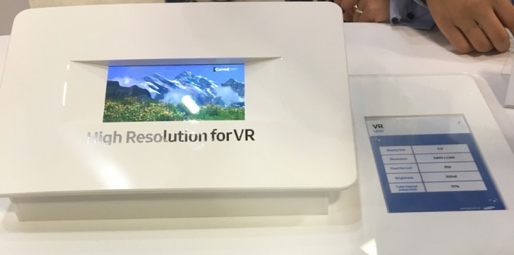 Samsung 4K Display VR