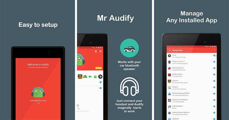 ۲۱ اپلیکیشن اندروید - Audify