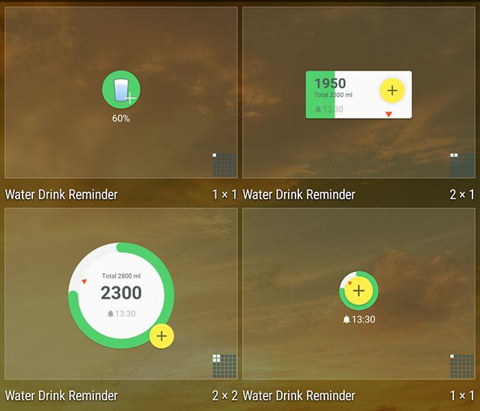 ۰۵ - نقد و بررسی اپلیکیشن سلامتی Water Drink Reminder